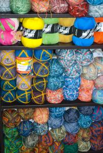 Sock Wool Display